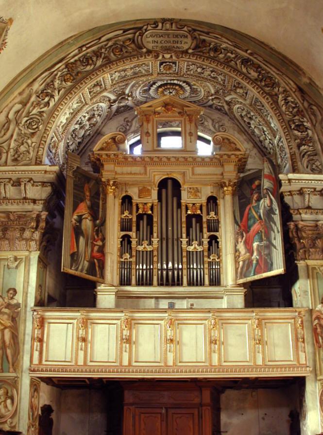 Orgel Antegnati neu Restauriert