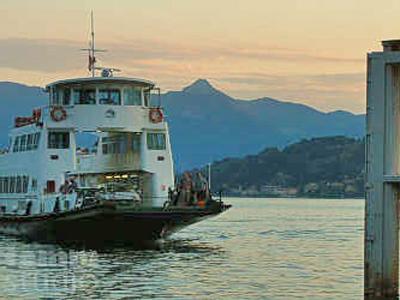 Transportmittel Comer See