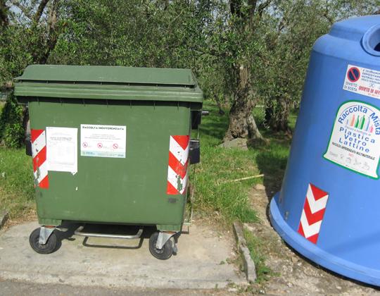 Wie funktioniert die Abfallentsorgung /-Trennung in Italien?