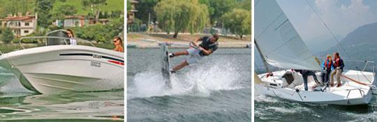 Alles über Bootfahren und Angeln am Comer See