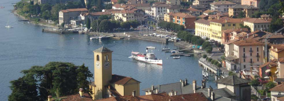 Bezaubernder Aussichtspunkt Piazza Castello Gravedona.
