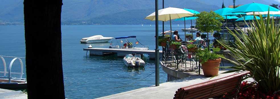 Gelateria Olmo beim Hafen Gravedona.