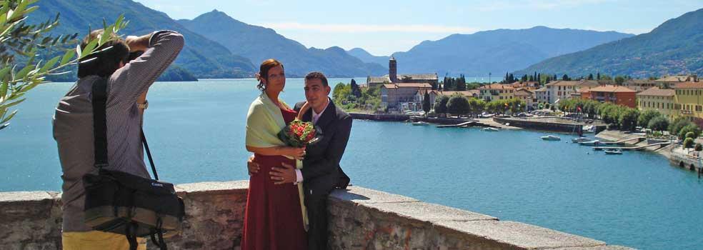 Heiraten am Comer See-immer mehr wollen das.