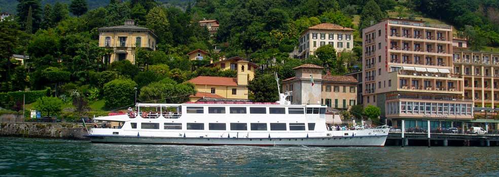 Motorschiff Giglio der Comersee-Flotte.