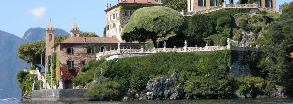 Terrasse Villa Balbianello-berühmte Kulisse für Star War.