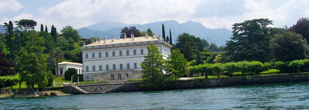 Villa Melzi mit Park in Bellagio-Franz Liszt war auch hier.
