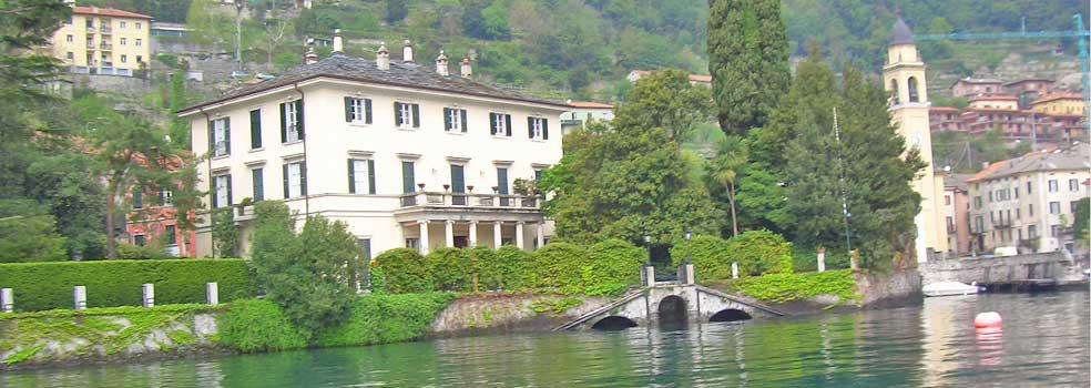 Villa Oleandra , Feriensitz von Geroge Clooney am Comer See