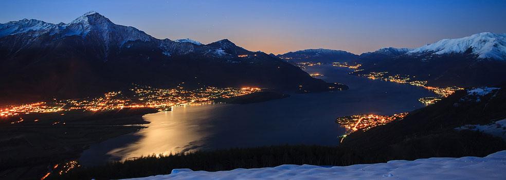 Winterimpression Lago di Como