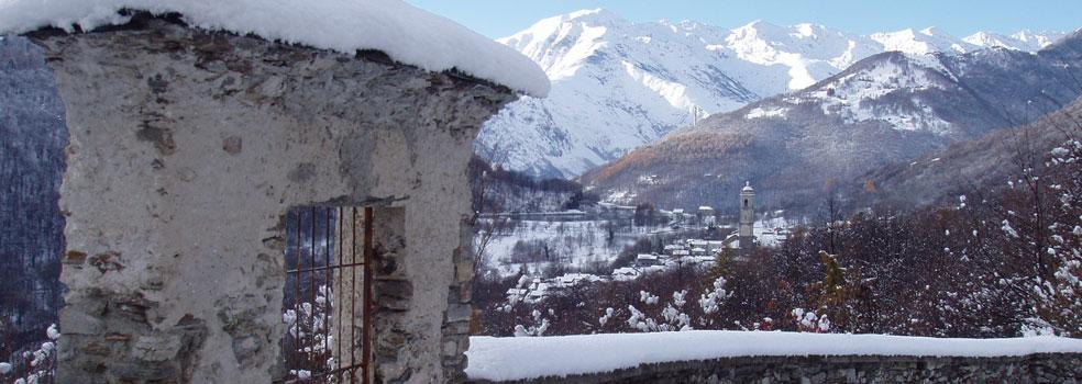 Winterimpression Lago di Como Livo