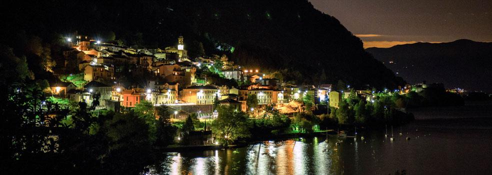 Winterimpression Lago di Como Ostseite